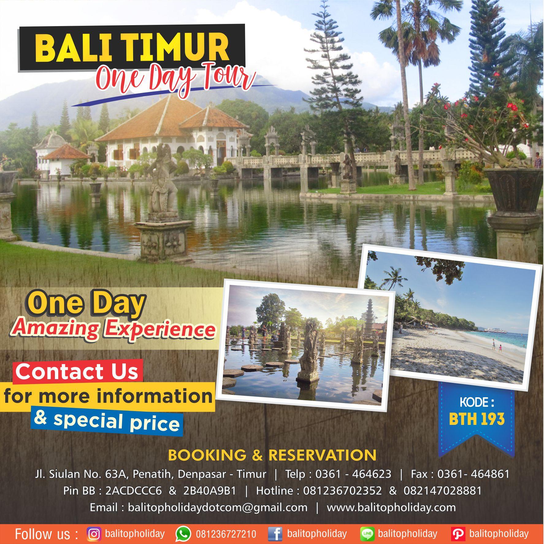 Paket One Day Tour Bali Timur BTH 193