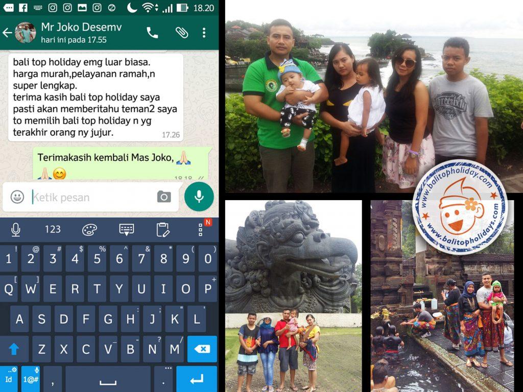 Liburan Bapak Joko ke Bali