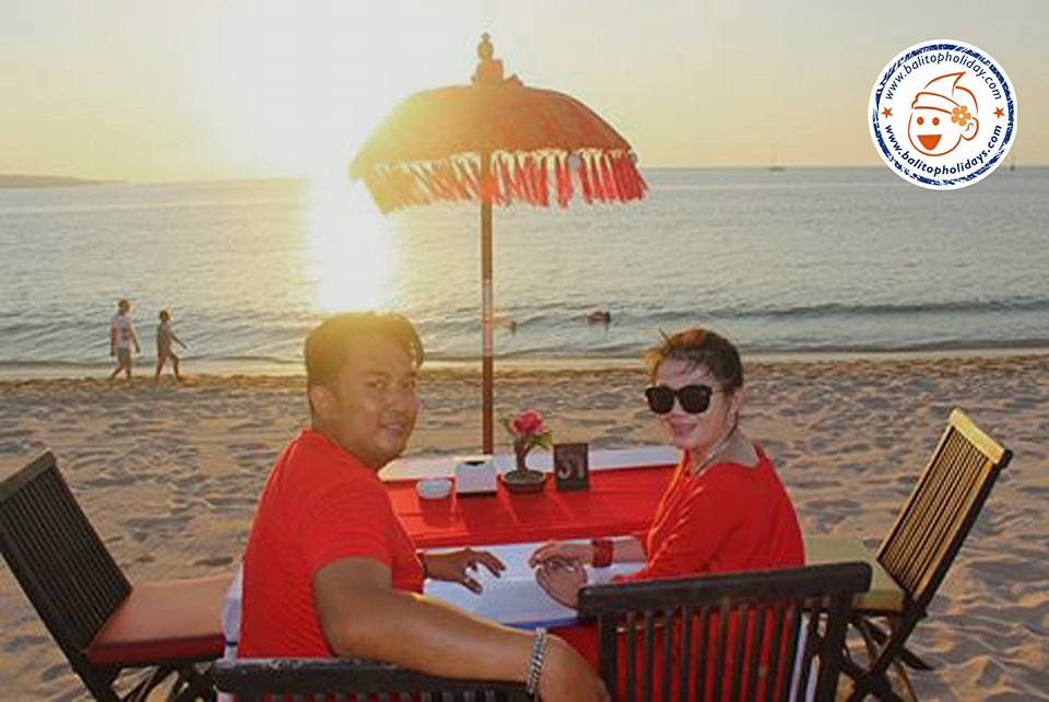 dinner romantis di jimbaran