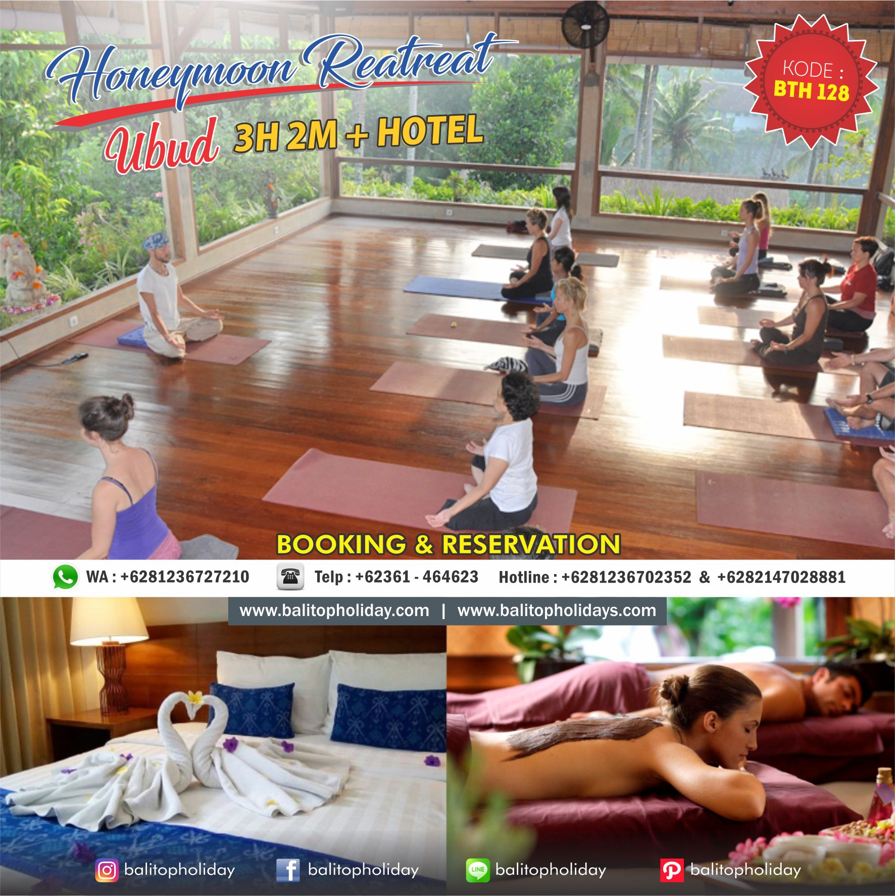 paket honeymoon retreat
