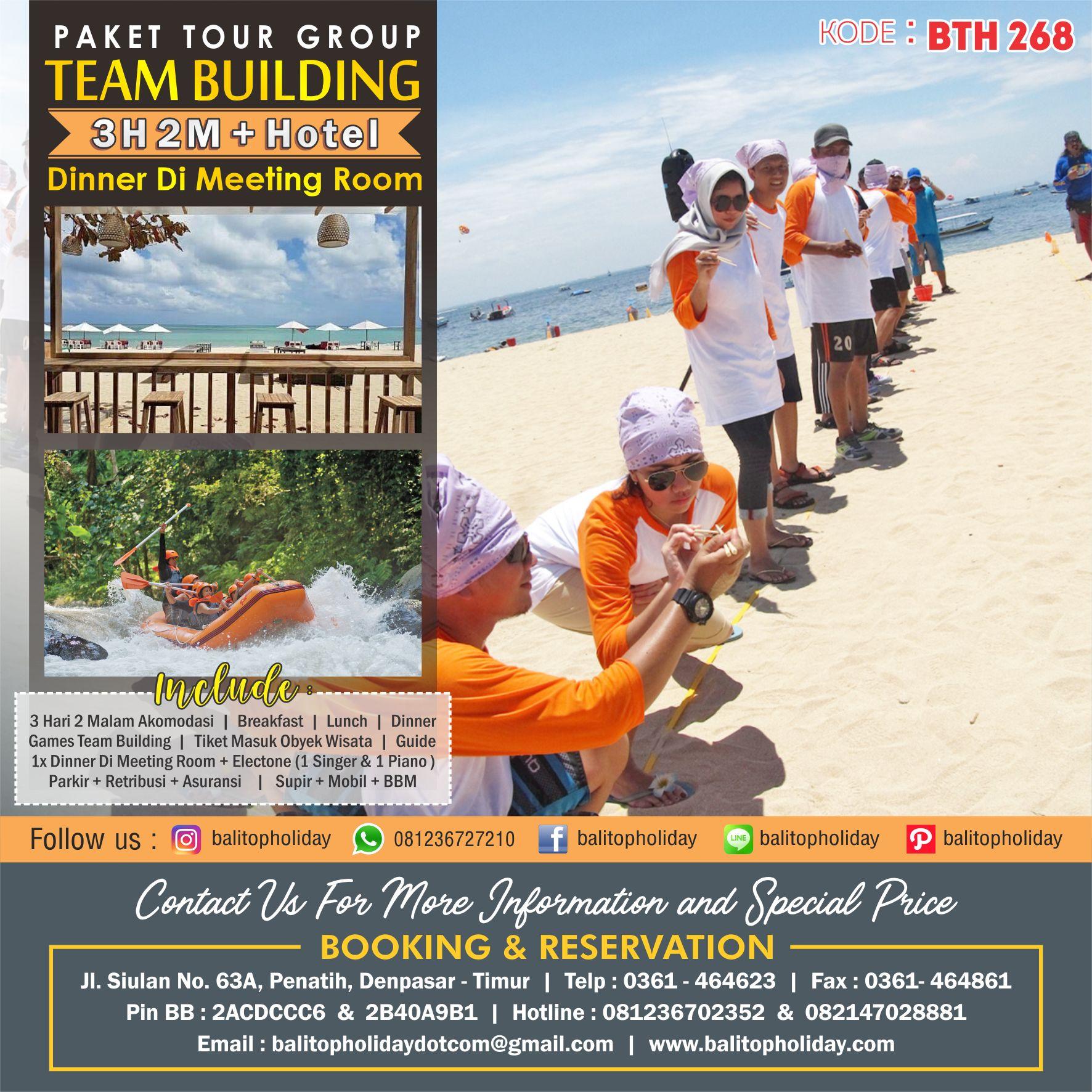 Paket Tour Group Dengan Team Building 3 Hari 2 Malam