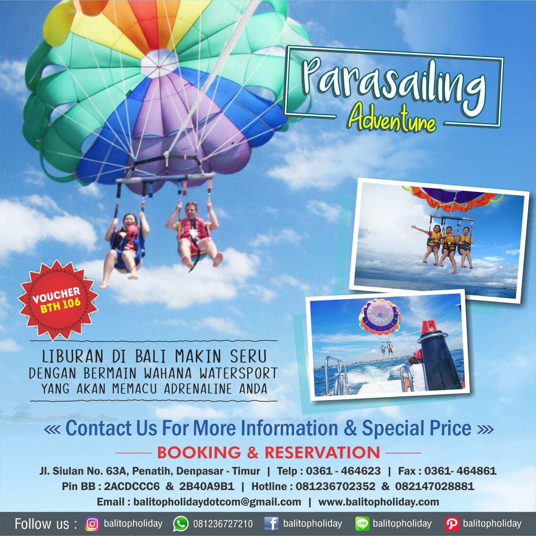 parasailing voucher
