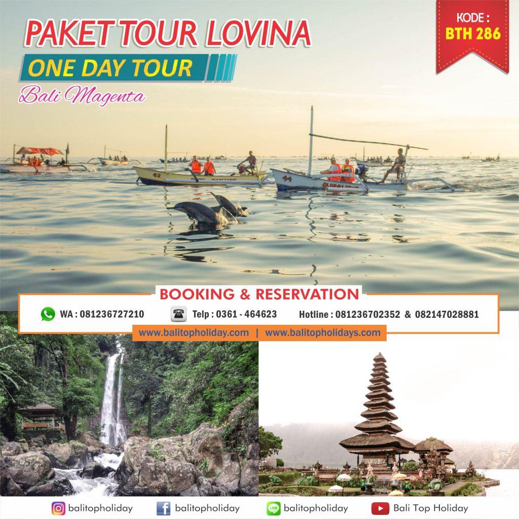 Tour Bali 1 Hari Lovina