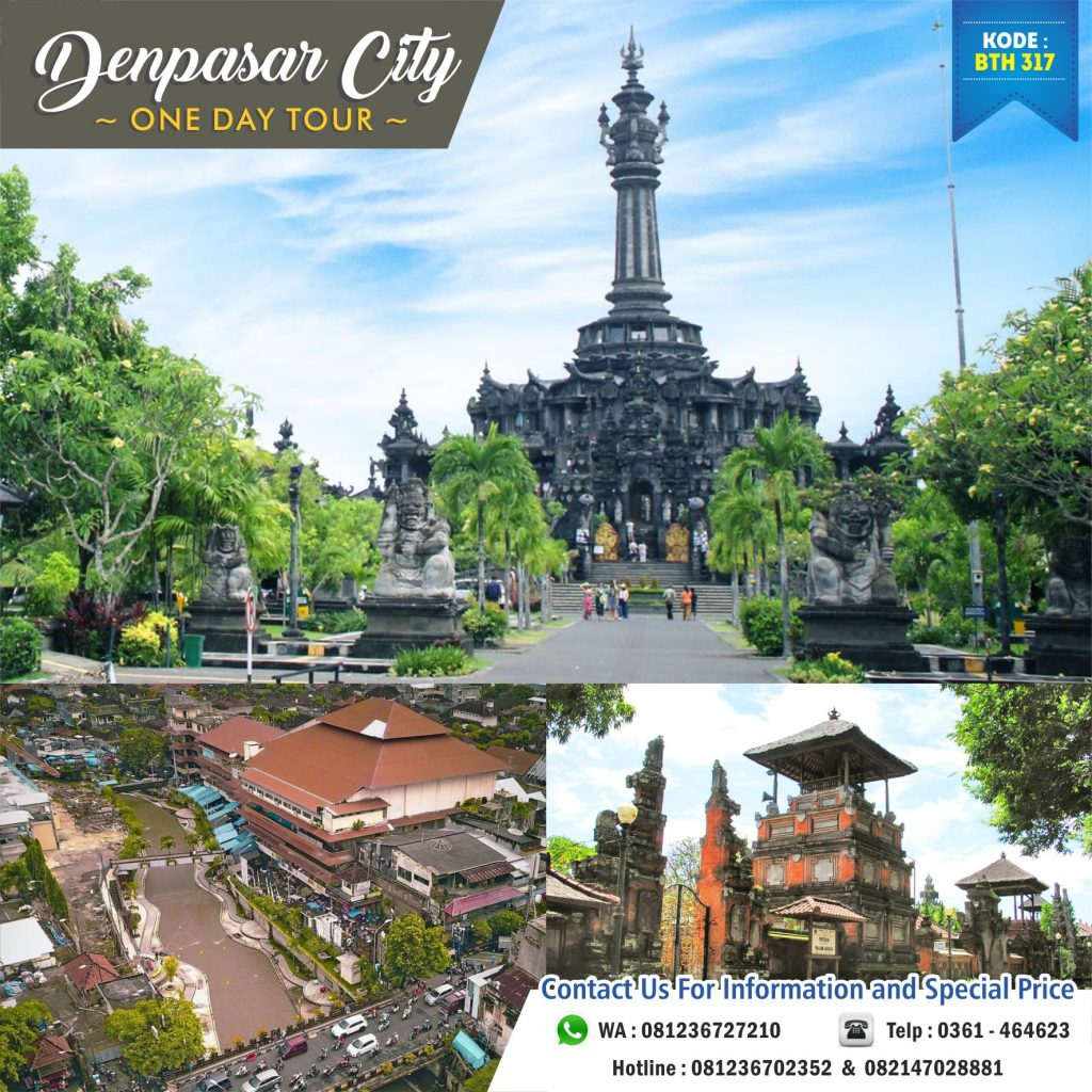 Denpasar City One Day Tour