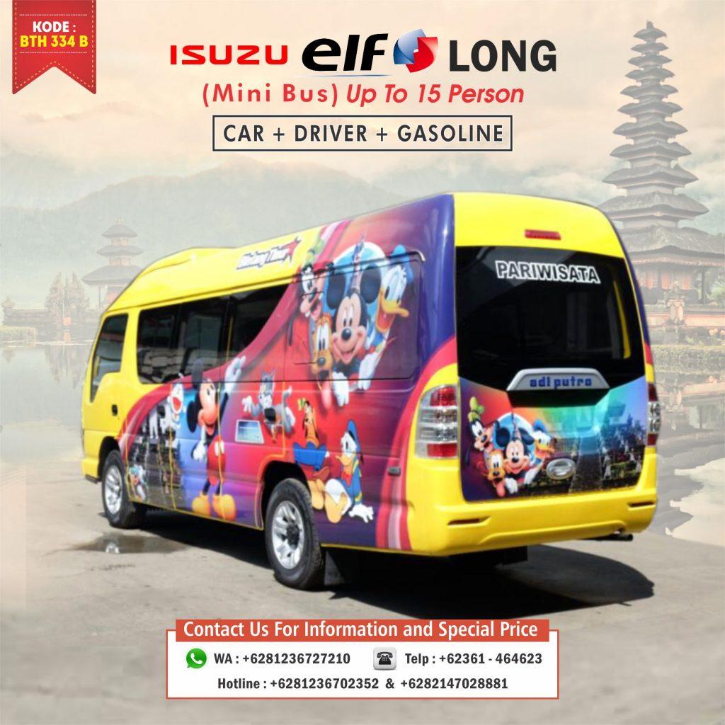 bali minibus rental 16 seat