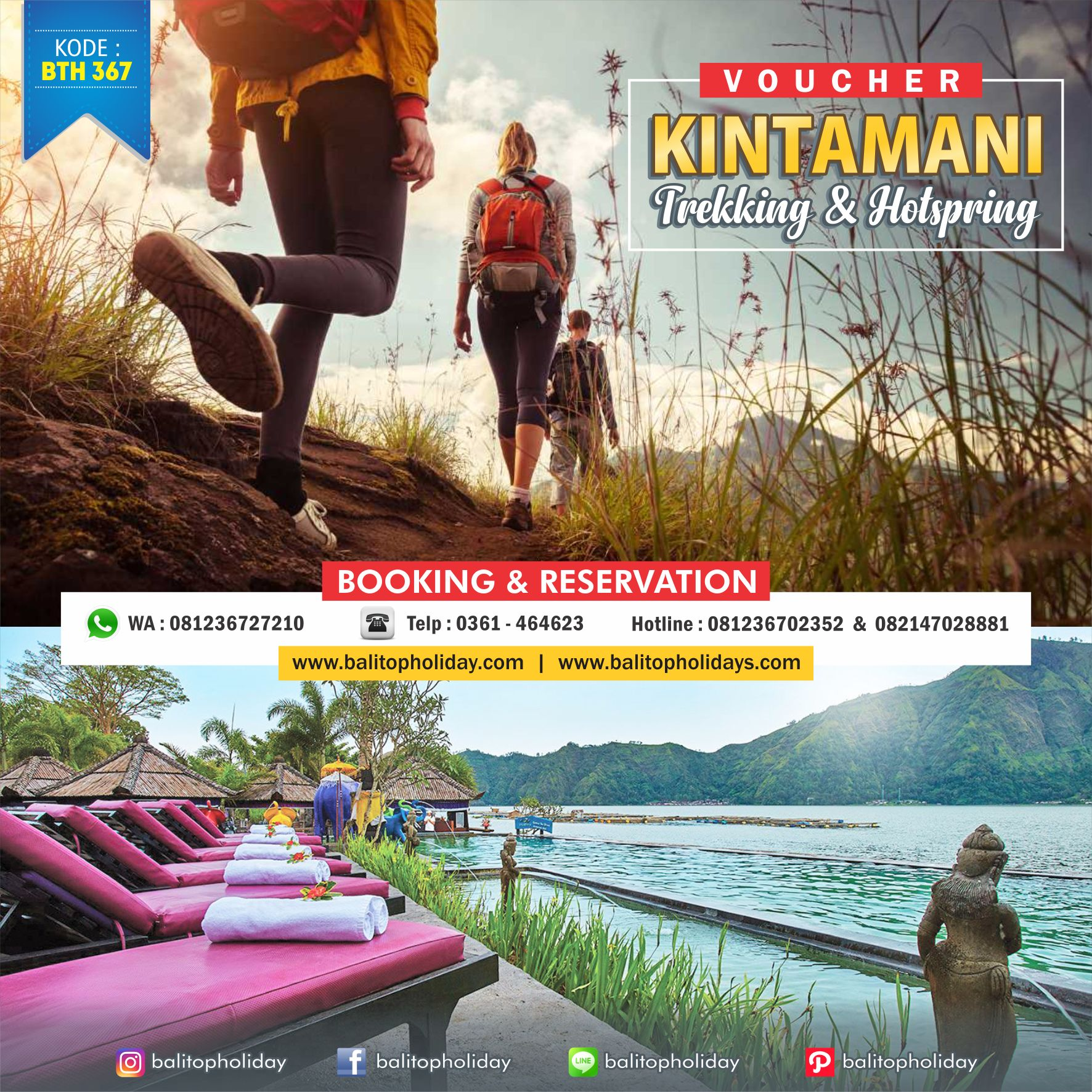 Batur Sunrise Trekking & Hotspring BTH 367 (1)