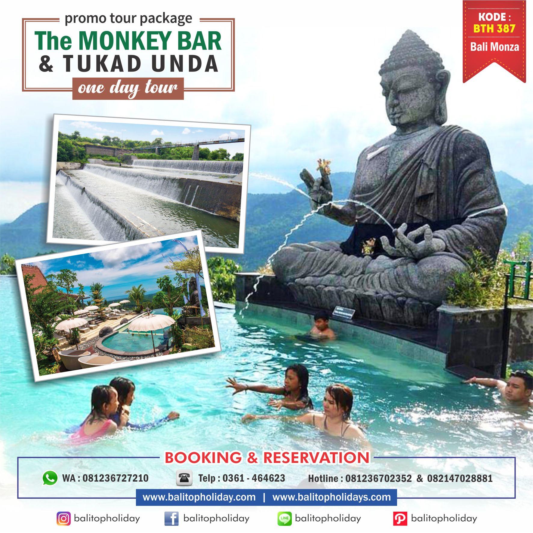 Monkey Bar & Tukad Unda BTH 387 Bali Monza