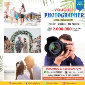 Photographer Voucher BTH 372