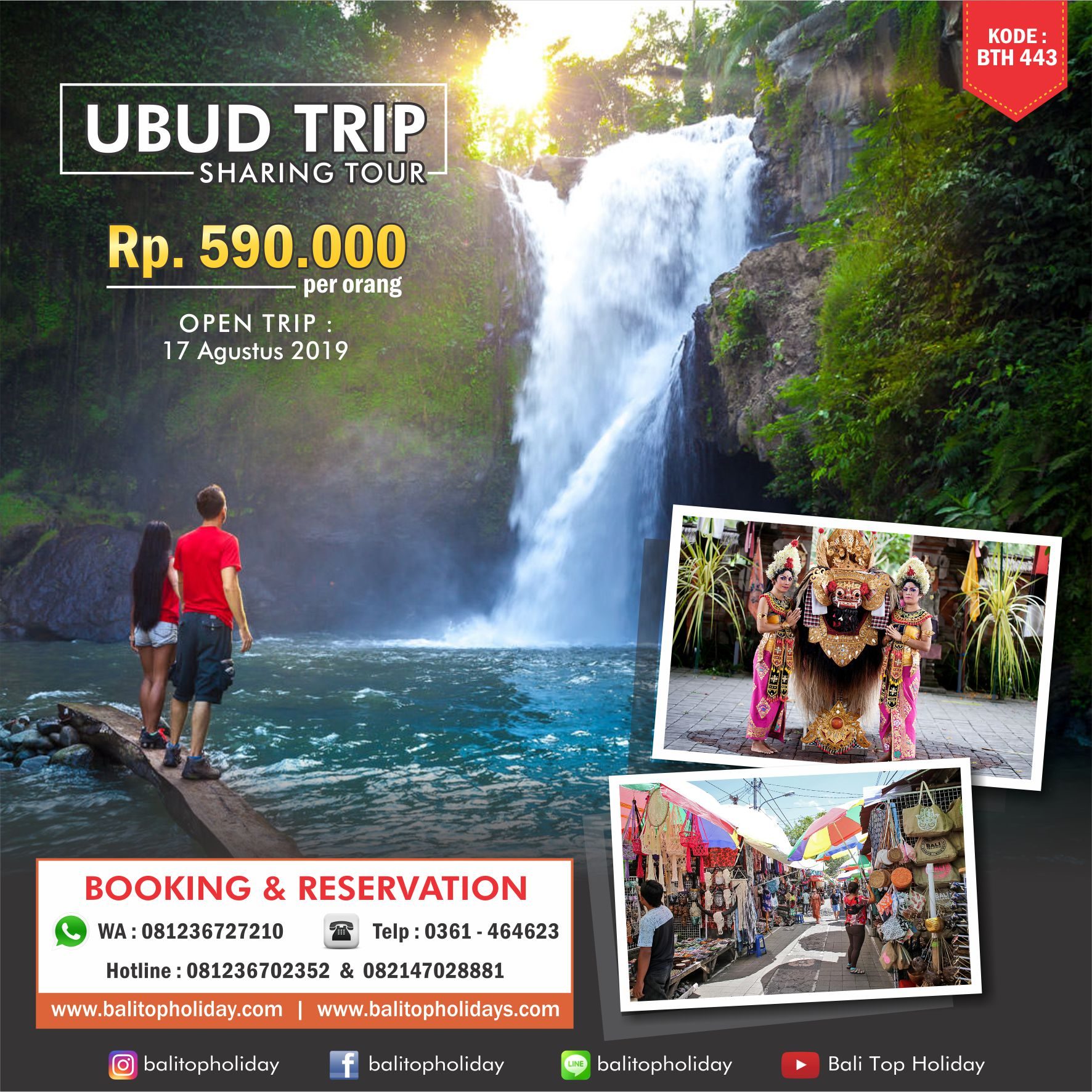 Sharing Tour Ubud